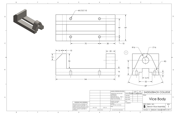 Bench Vise Drawing Bench Vice Assembly Drawing Pdf Www